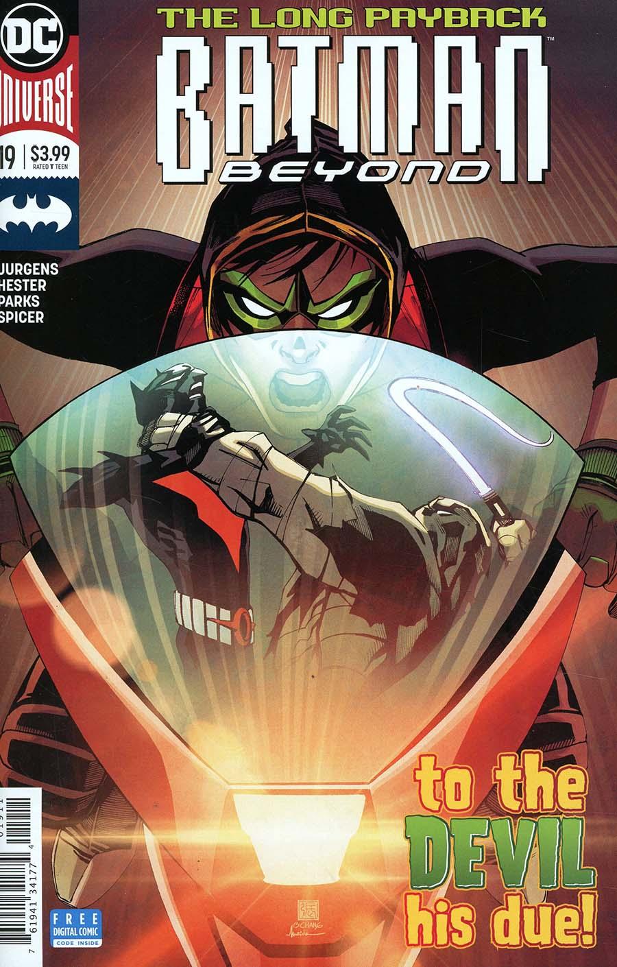 Batman Beyond Vol 6 #19 Cover A Regular Bernard Chang Cover