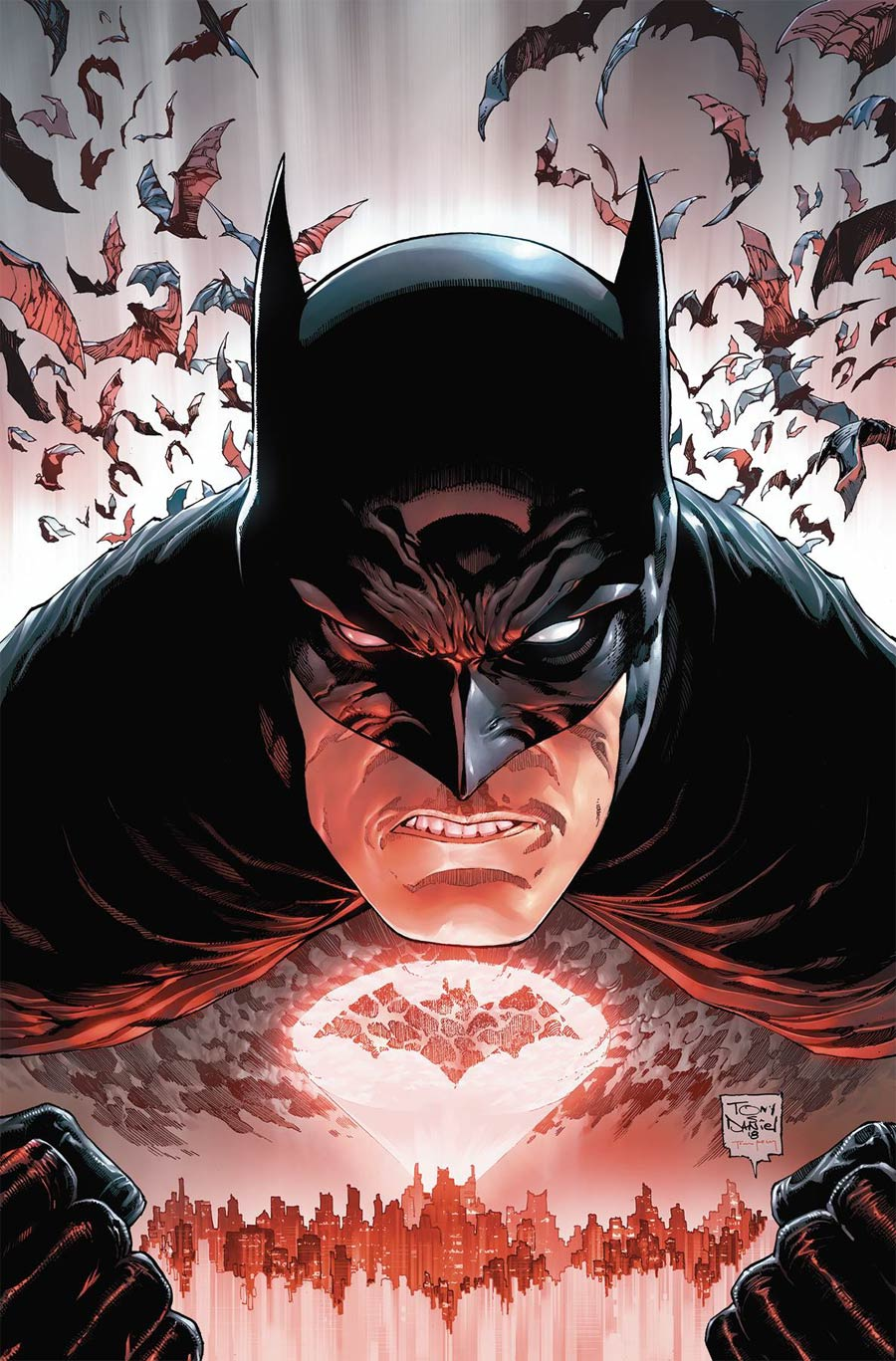 Batman Vol 3 #45 Cover A 1st Ptg Regular Tony S Daniel Cover