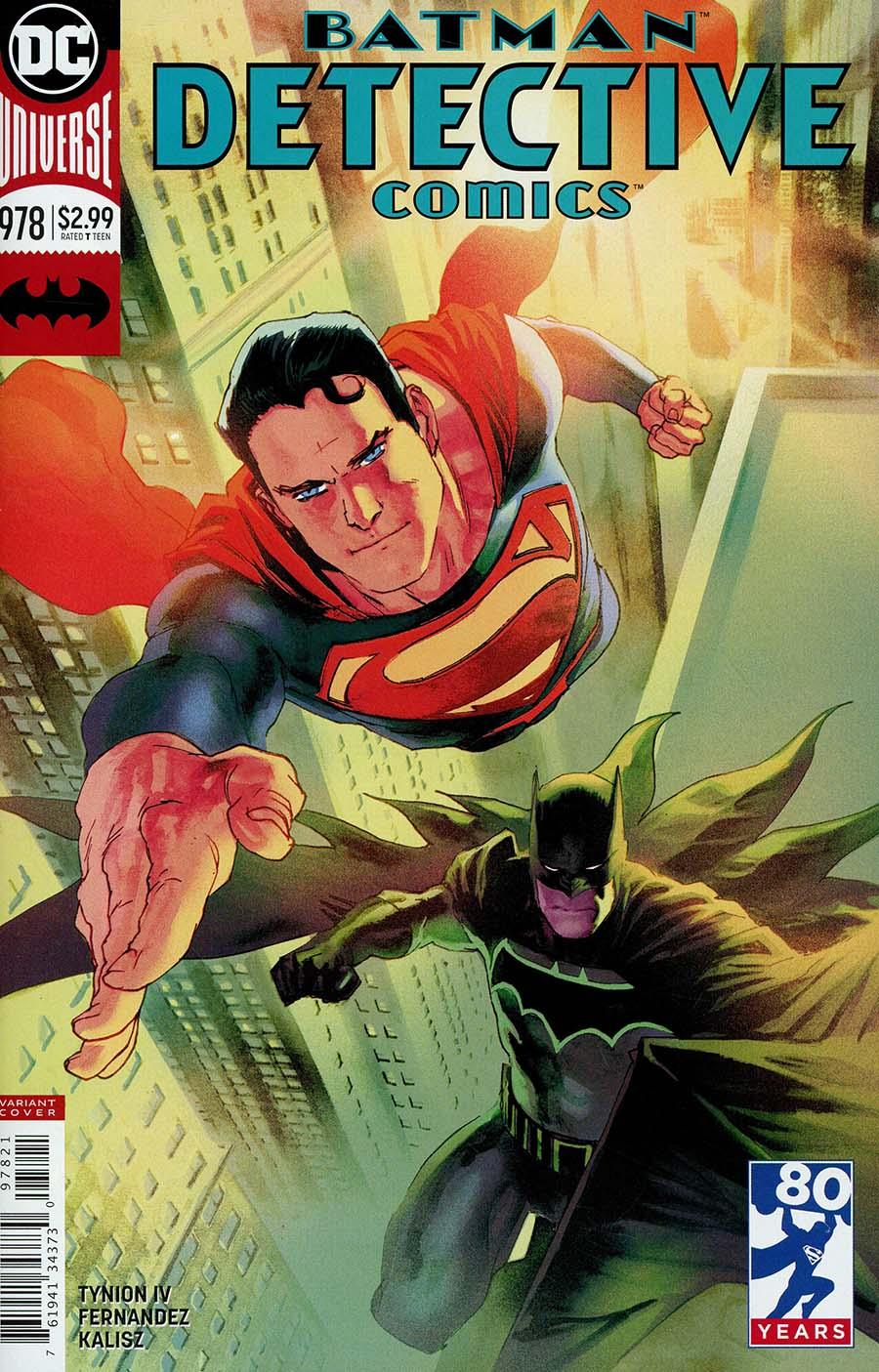 Detective Comics Vol 2 #978 Cover B Variant Rafael Albuquerque Cover