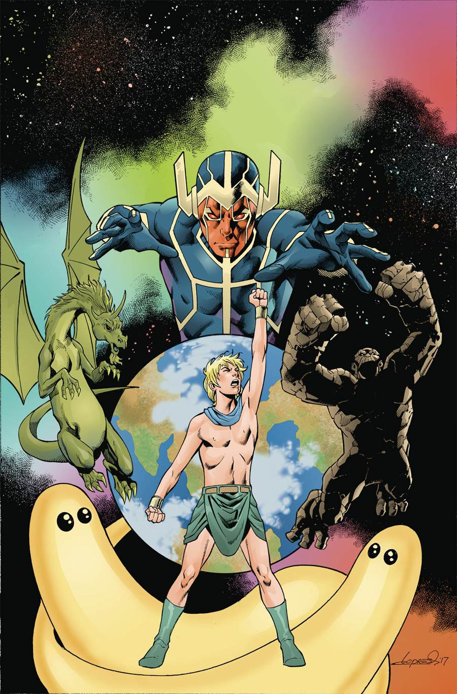 Future Quest Presents #9 Cover A Regular Aaron Lopresti Cover