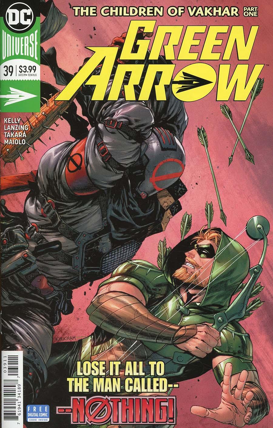 Green Arrow Vol 7 #39 Cover A Regular Tyler Kirkham Cover