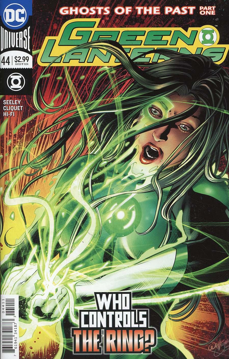Green Lanterns #44 Cover A Regular Will Conrad Cover