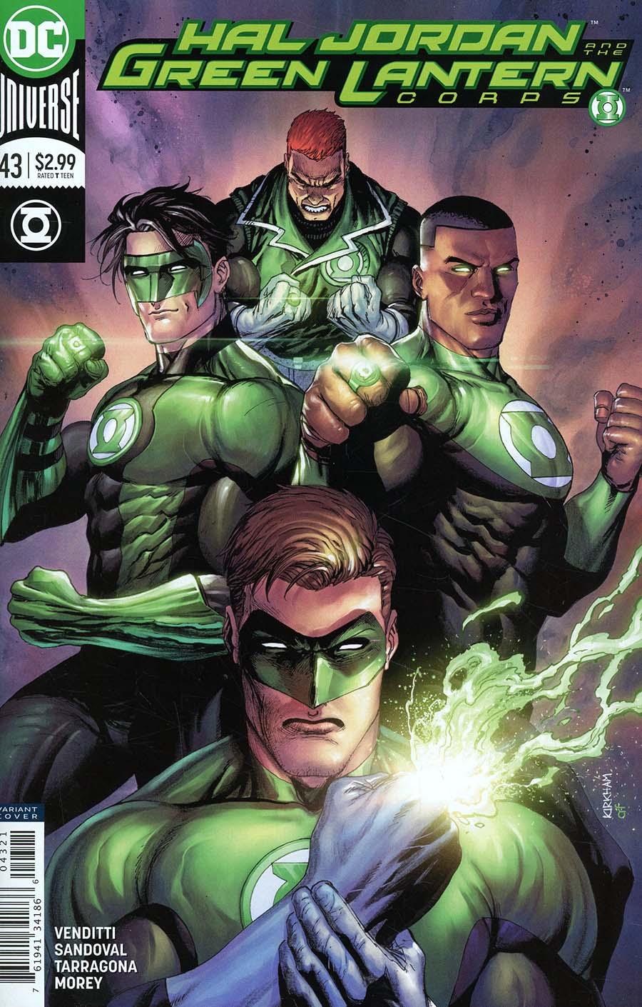 Hal Jordan And The Green Lantern Corps #43 Cover B Variant Tyler Kirkham Cover
