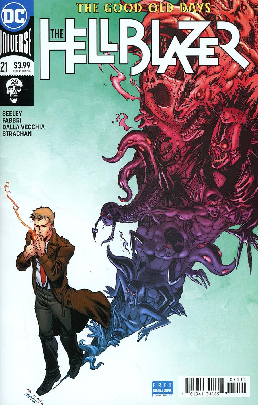 Hellblazer Vol 2 #21 Cover A Regular Tim Seeley Cover