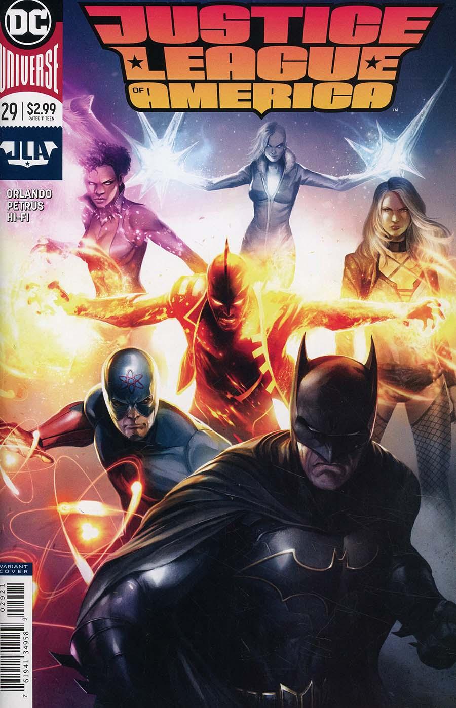 Justice League Of America Vol 5 #29 Cover B Variant Francesco Mattina Cover