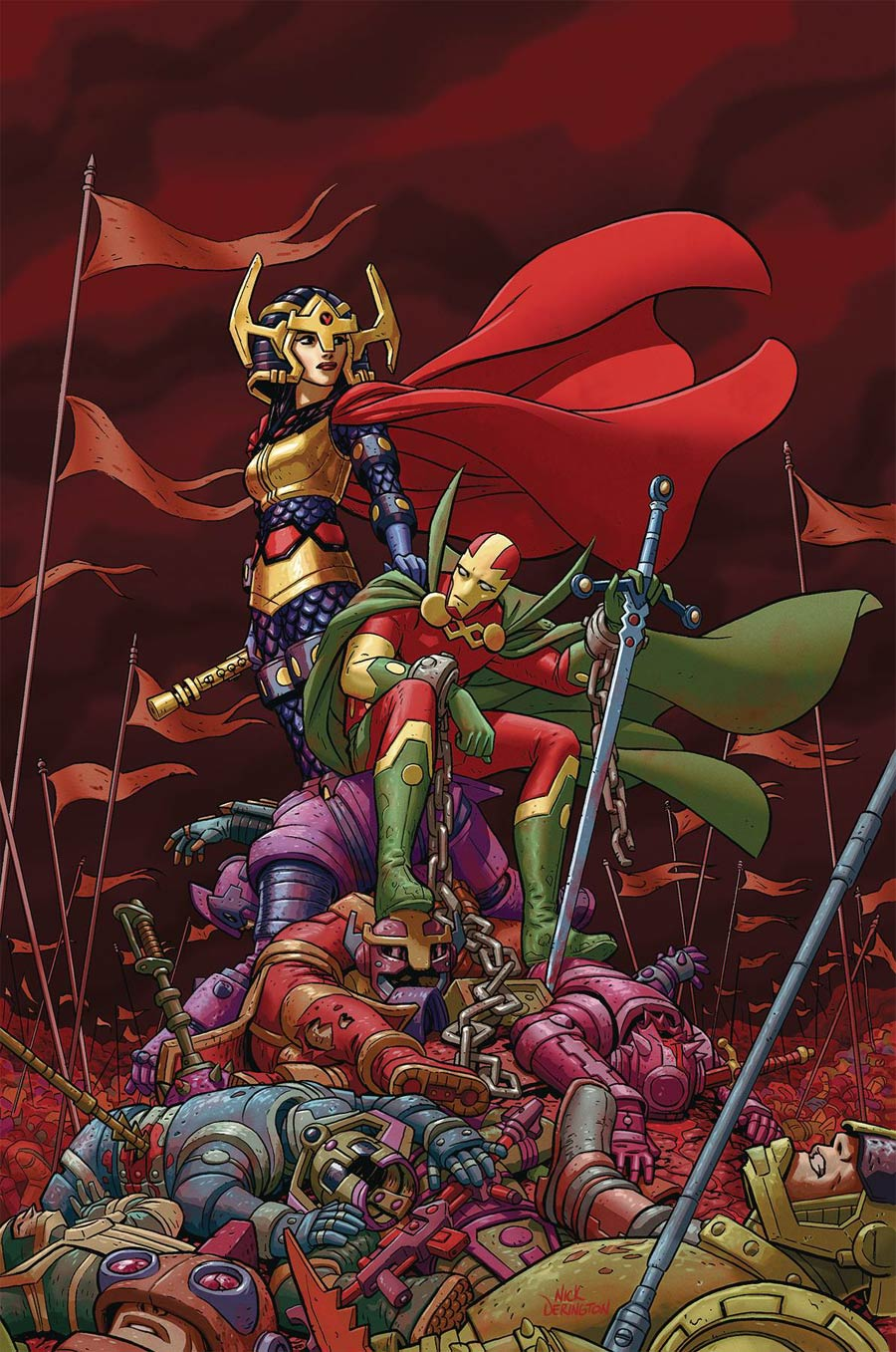Mister Miracle Vol 4 #8 Cover A Regular Nick Derington Cover
