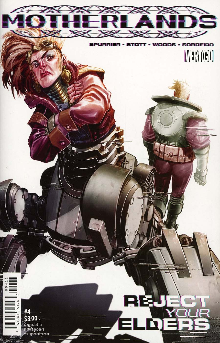 Motherlands #4 Cover A Regular Eric Canete Cover