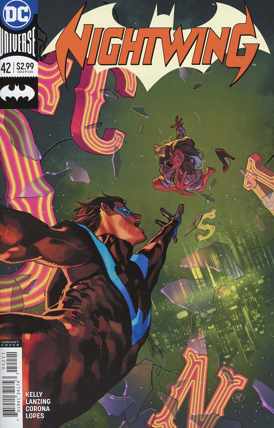 Nightwing Vol 4 #42 Cover B Variant Yasmine Putri Cover