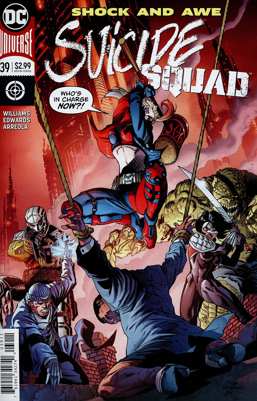 Suicide Squad Vol 4 #39 Cover A Regular Andy Kubert Cover