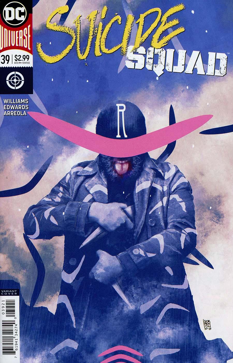 Suicide Squad Vol 4 #39 Cover B Variant Andrea Sorrentino Cover