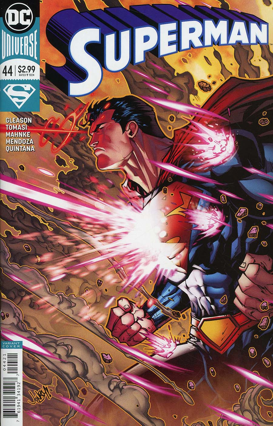 Superman Vol 5 #44 Cover B Variant Jonboy Meyers Cover