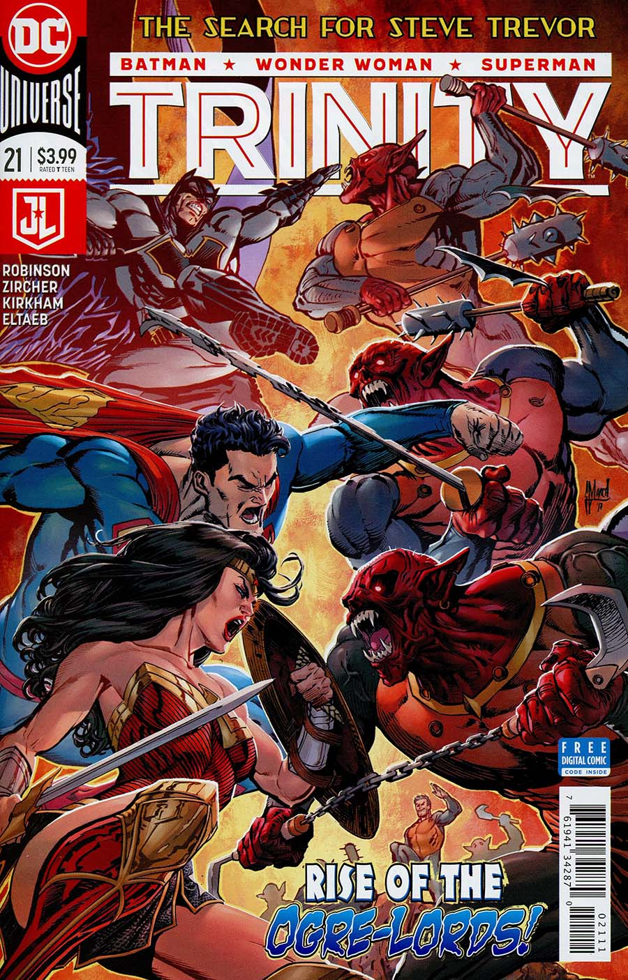 Trinity Vol 2 #21 Cover A Regular Guillem March Cover