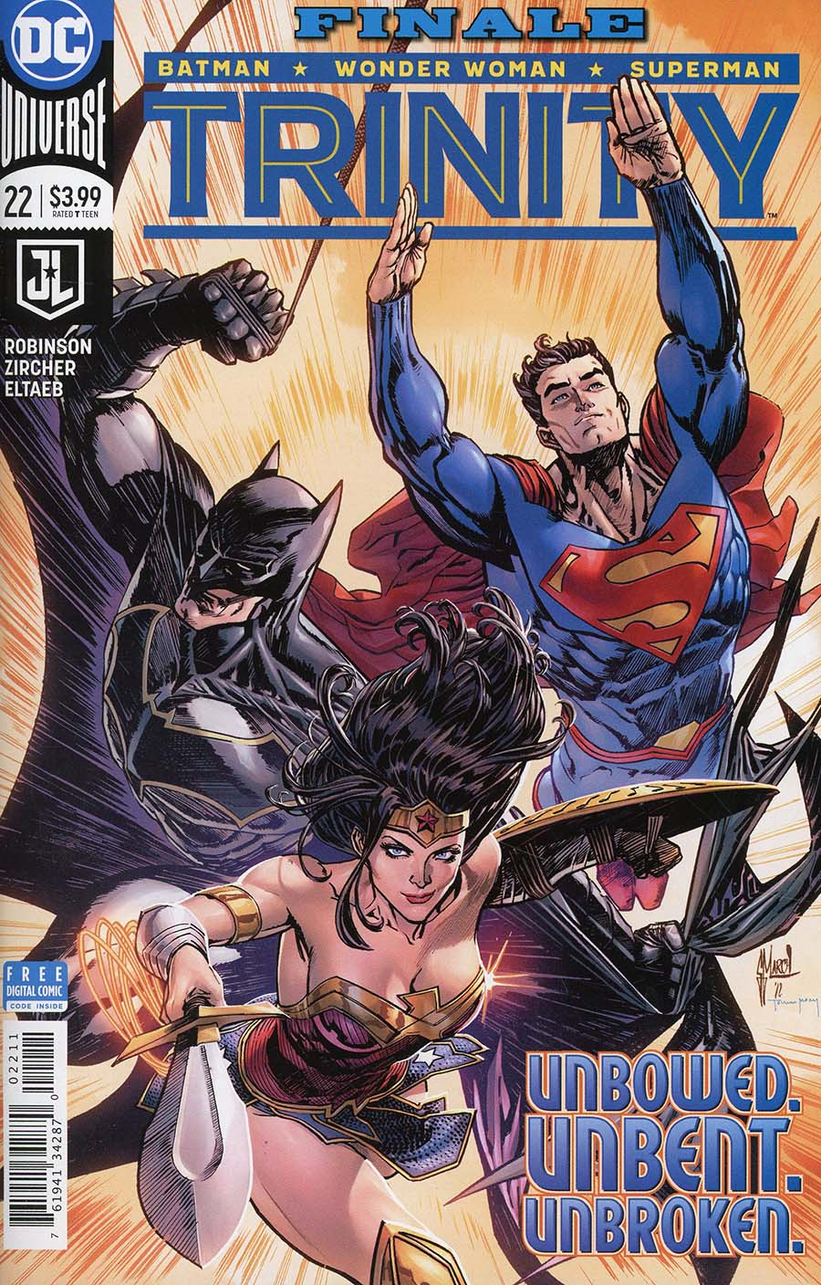 Trinity Vol 2 #22 Cover A Regular Guillem March Cover