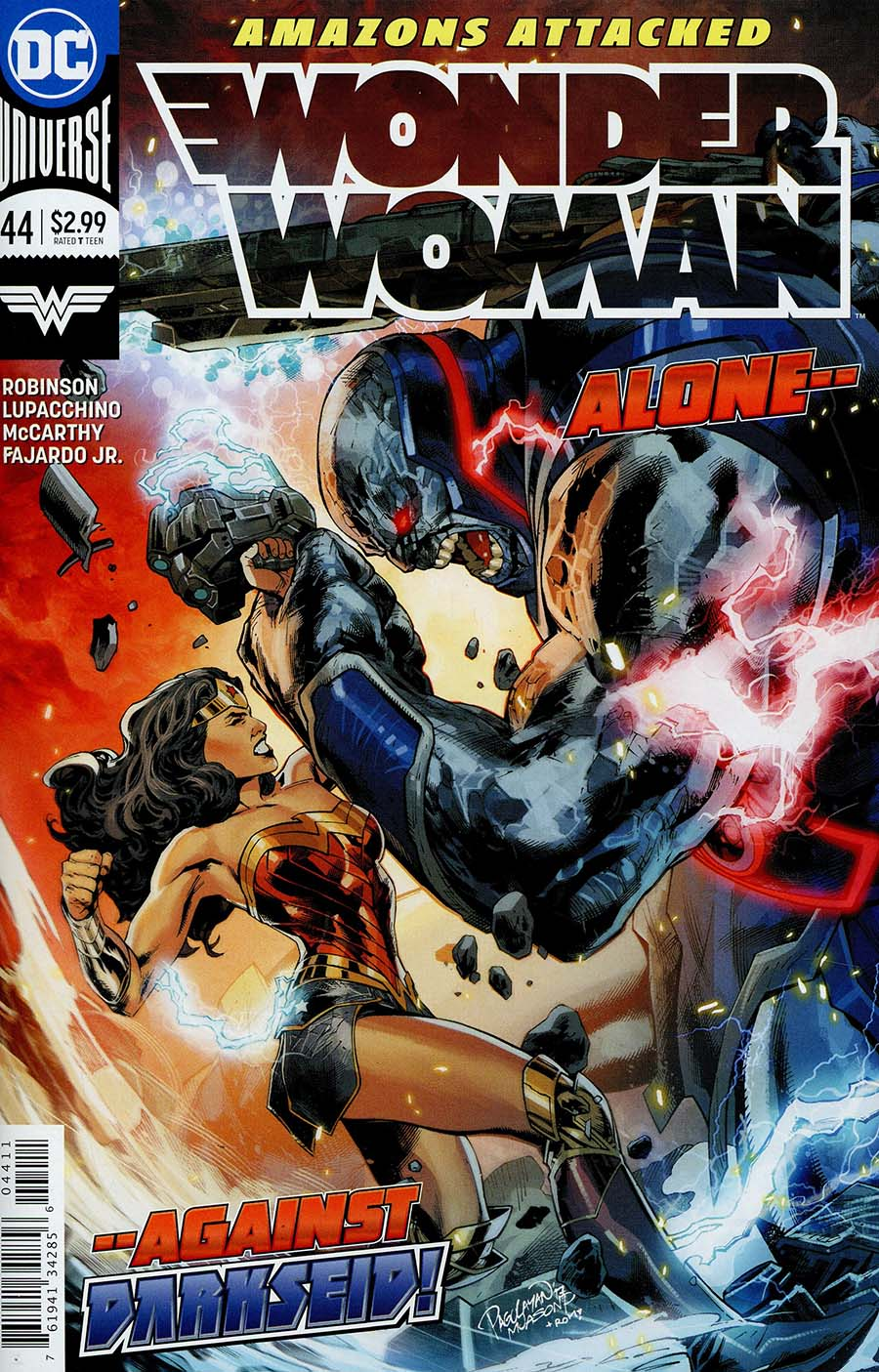 Wonder Woman Vol 5 #44 Cover A Regular Carlo Pagulayan Cover