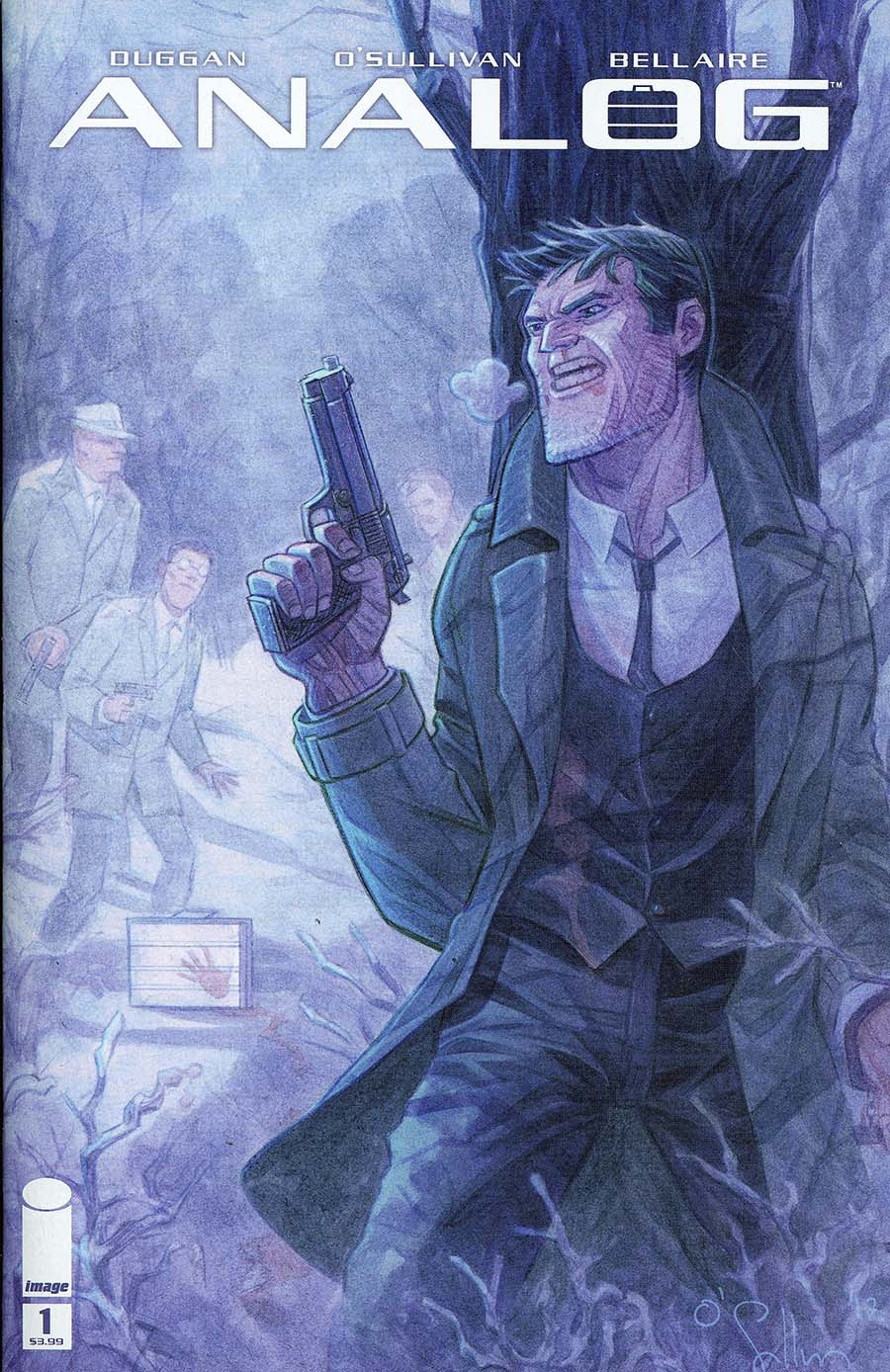 Analog #1 Cover A Regular David OSullivan Cover
