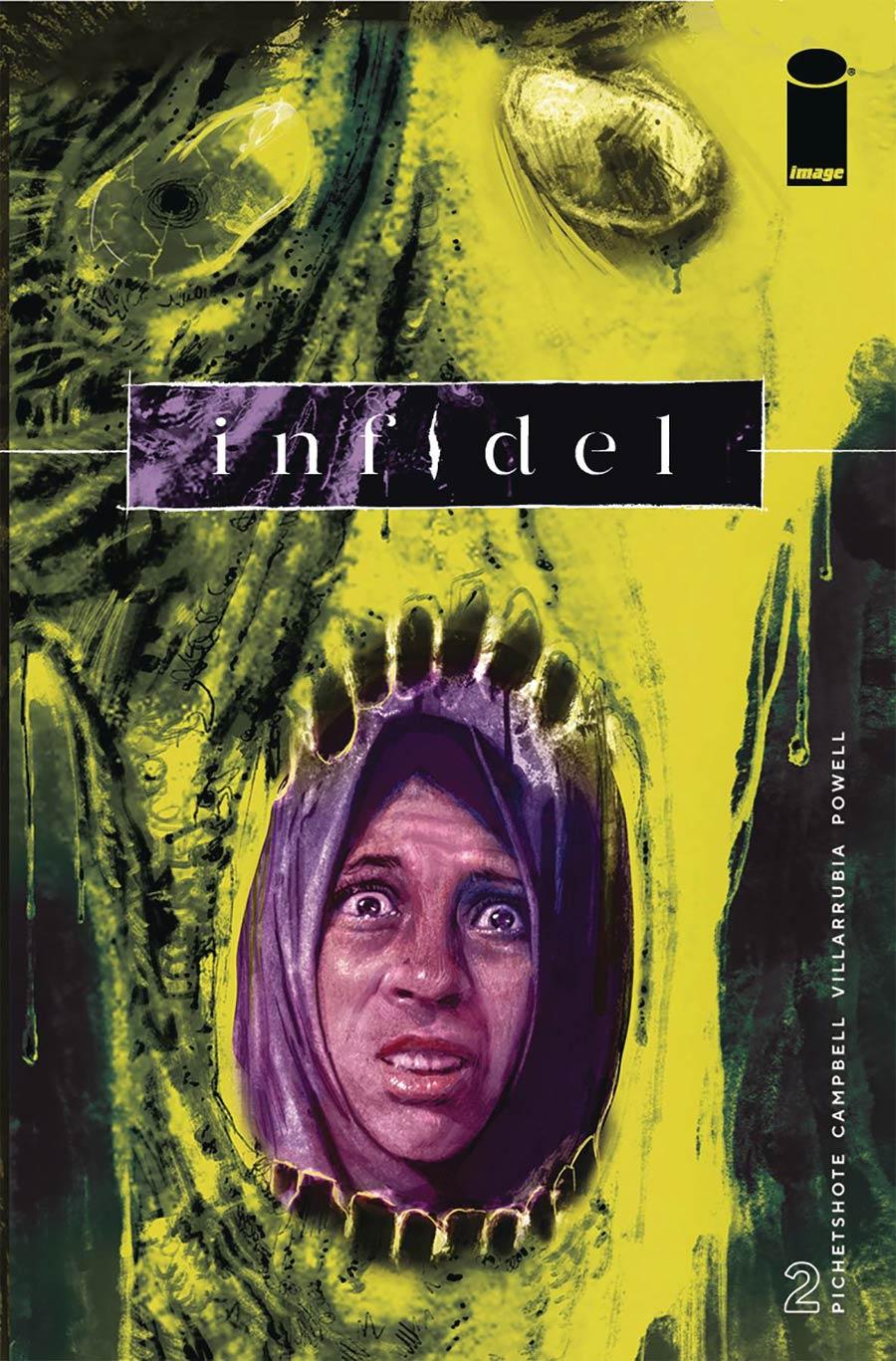 Infidel #2 Cover A Regular Aaron Campbell & Jose Villarrubia Cover
