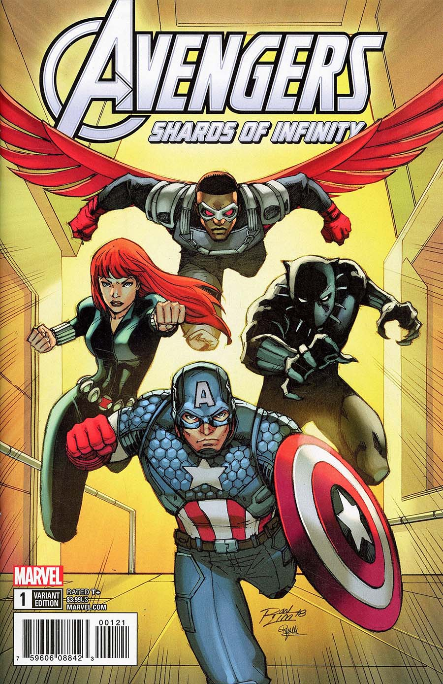 Avengers Shards Of Infinity #1 Cover B Variant Ron Lim Cover