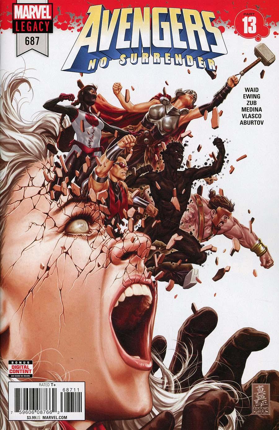 Avengers Vol 6 #687 Cover A Regular Mark Brooks Cover (No Surrender Part 13)