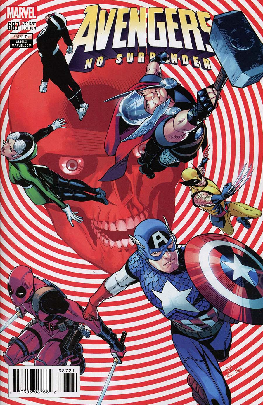 Avengers Vol 6 #687 Cover B Variant Chris Sprouse End Of An Era Cover (No Surrender Part 13)