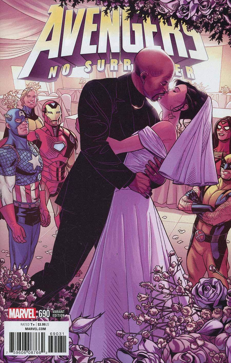 Avengers Vol 6 #690 Cover B Variant Chris Sprouse End Of An Era Cover (No Surrender Part 16)