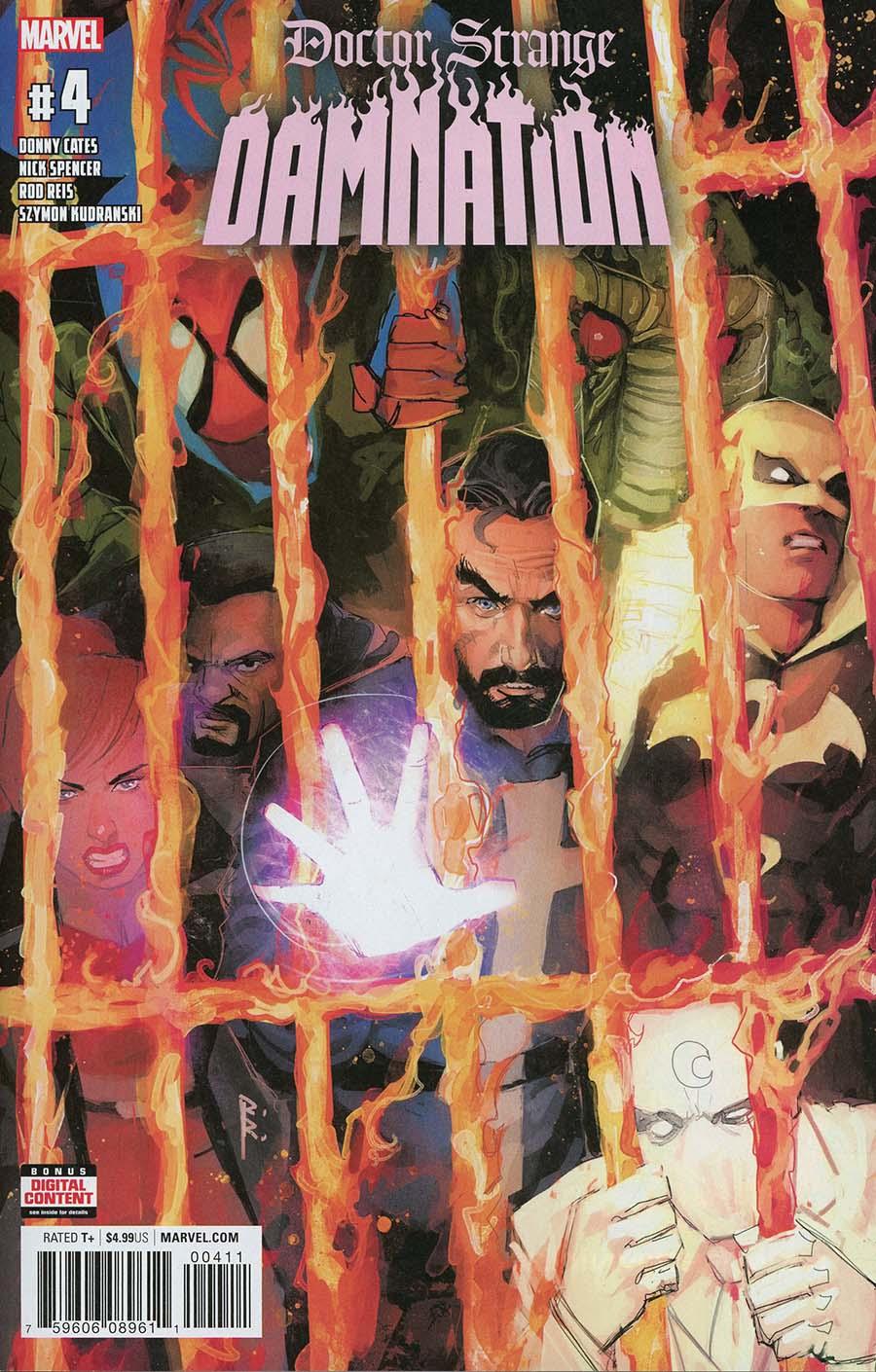 Doctor Strange Damnation #4 Cover A Regular Rod Reis Cover
