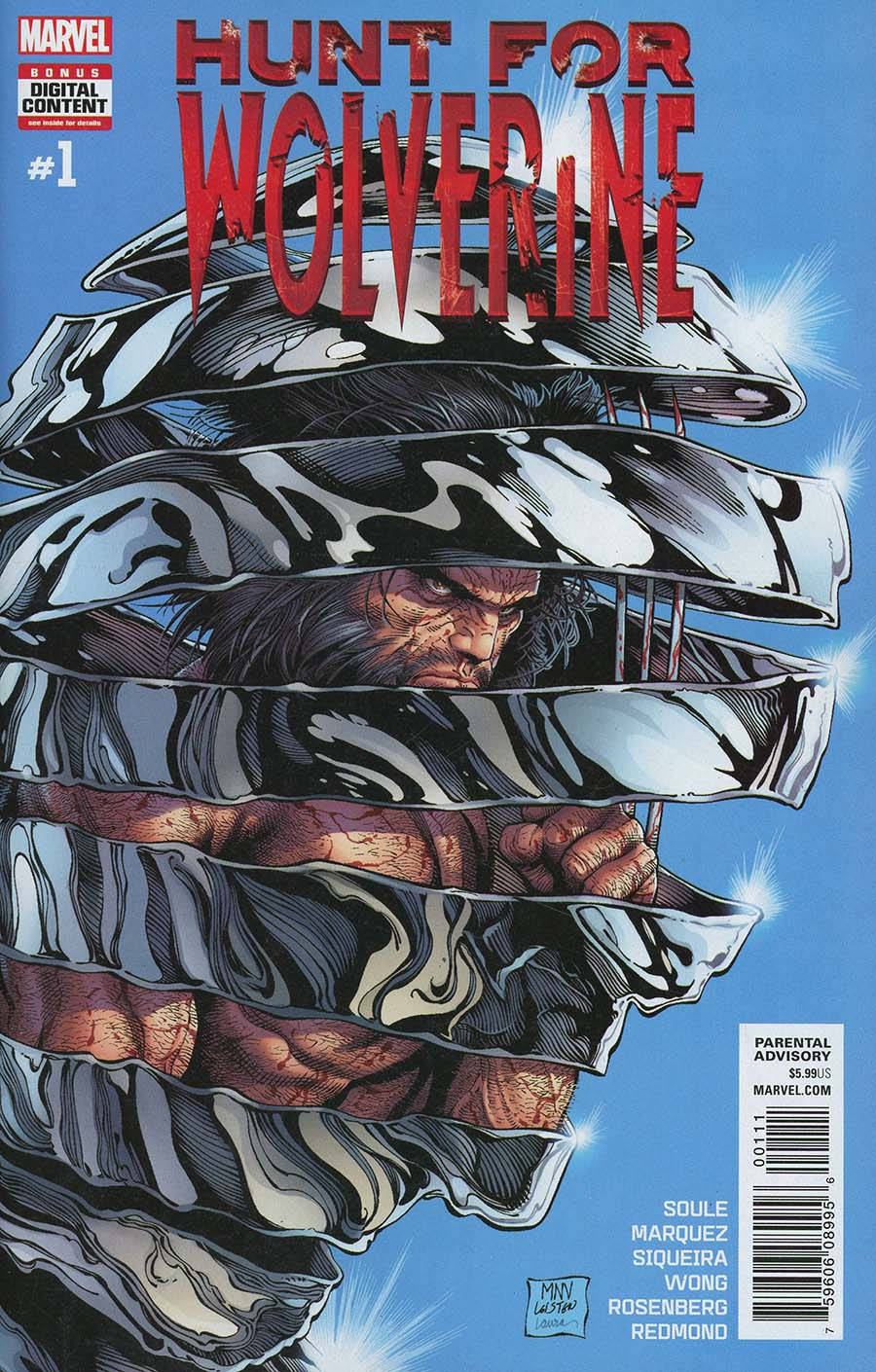 Hunt For Wolverine #1 Cover A 1st Ptg Regular Steve McNiven Cover