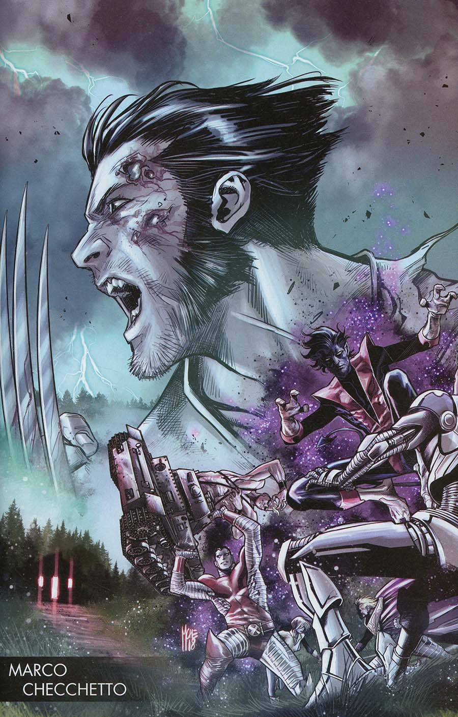 Hunt For Wolverine #1 Cover B Variant Marco Checchetto Young Guns Cover