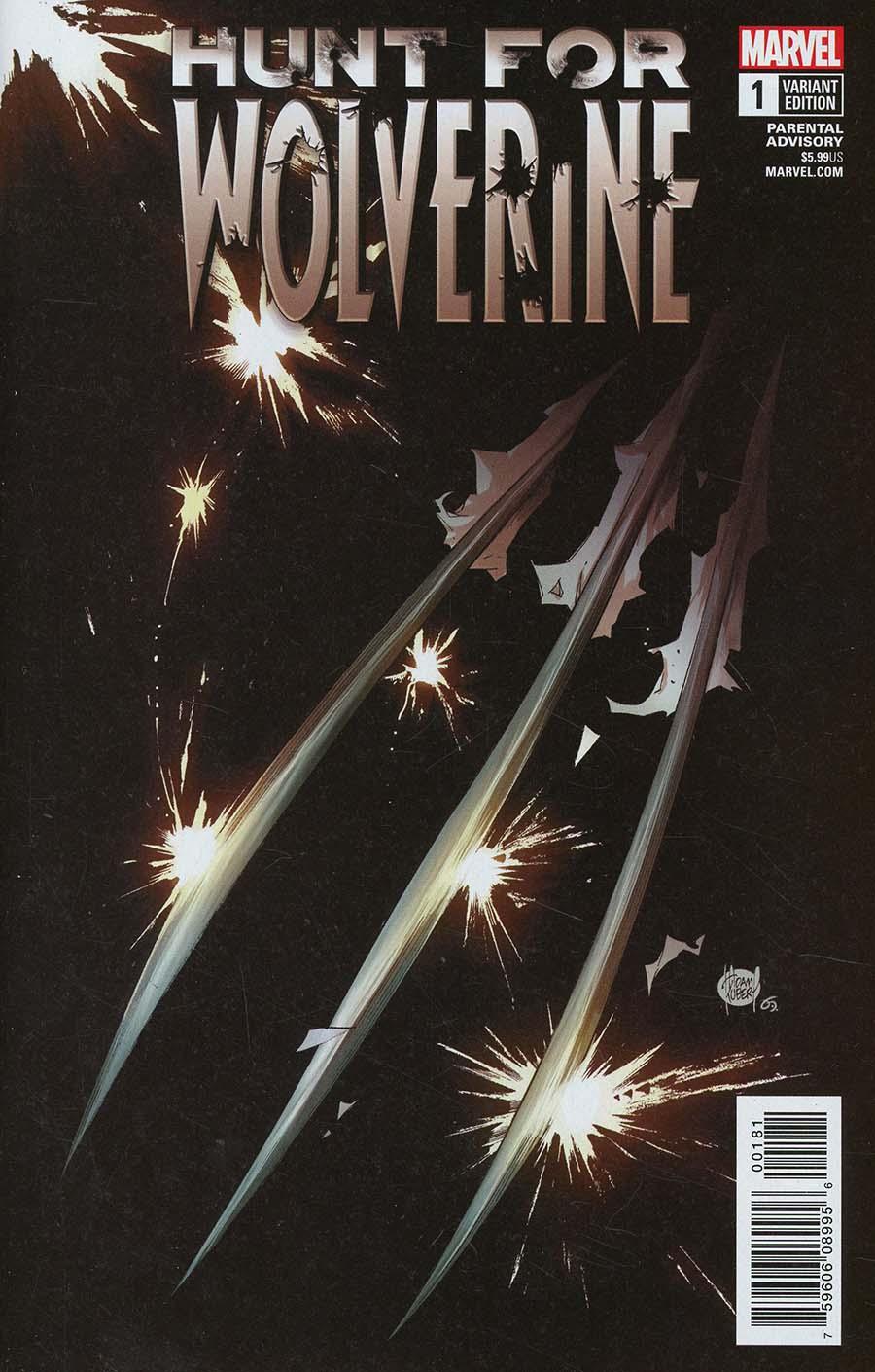 Hunt For Wolverine #1 Cover C Variant Adam Kubert Teaser Cover