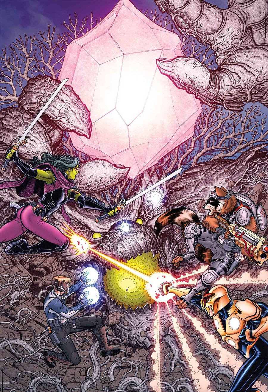 Infinity Countdown #2 Cover A Regular Nick Bradshaw Cover