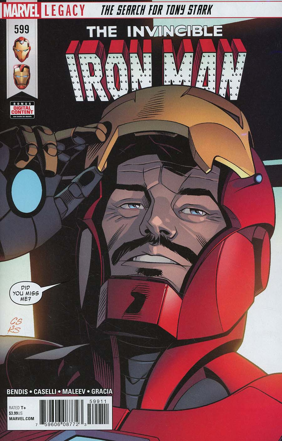 Invincible Iron Man Vol 3 #599 Cover A Regular Chris Sprouse Cover