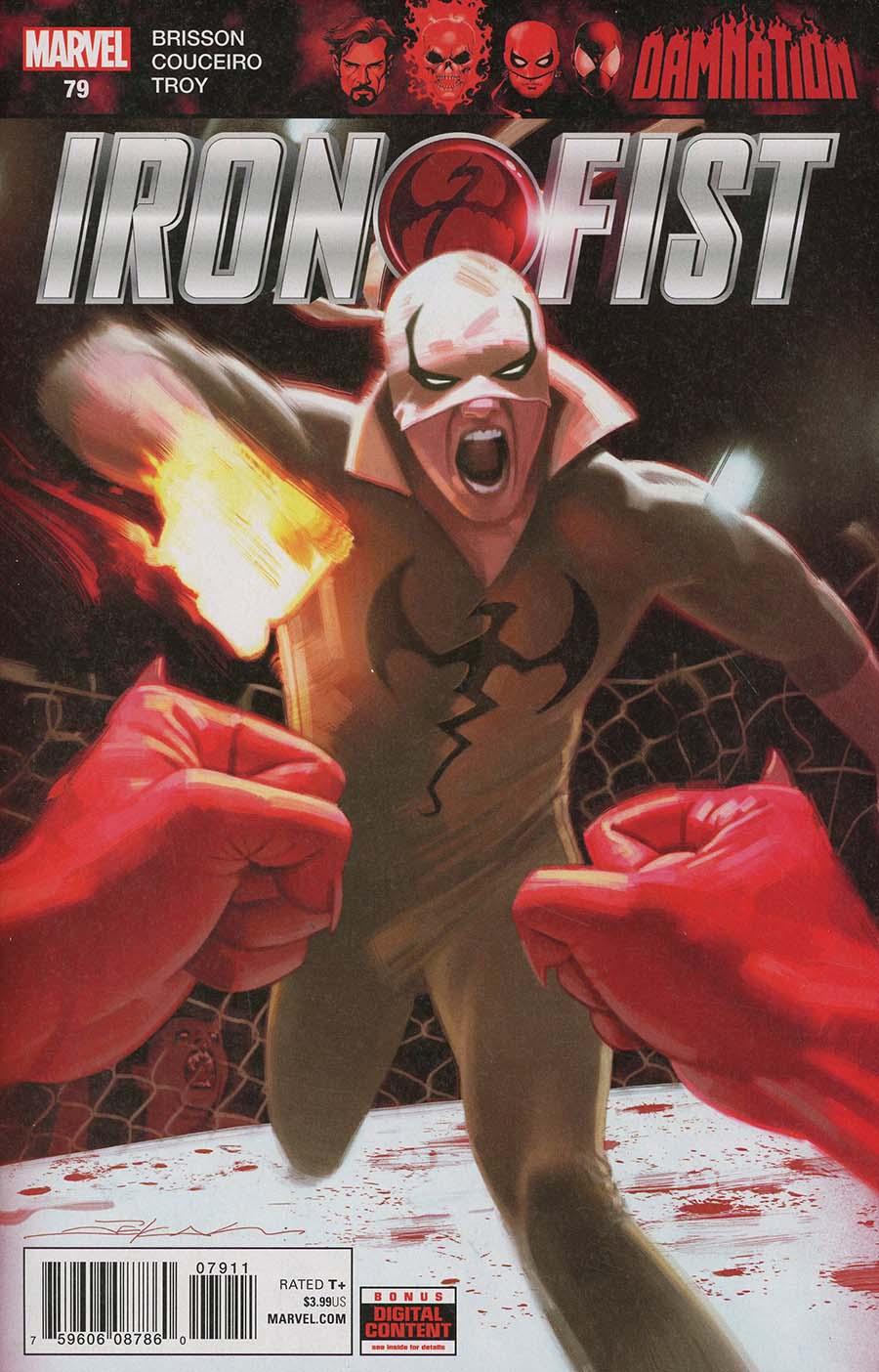 Iron Fist Vol 5 #79 (Damnation Tie-In)