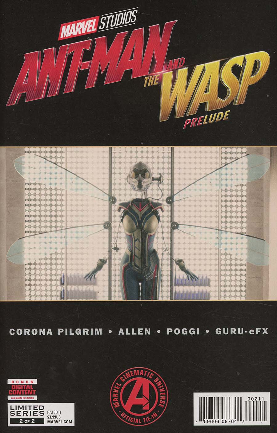 Marvels Ant-Man And The Wasp Prelude #2