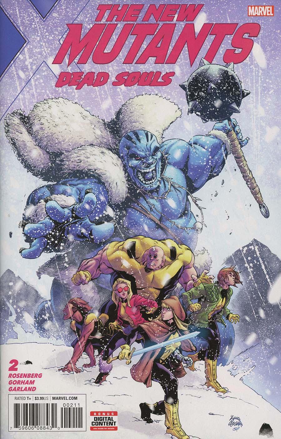 New Mutants Dead Souls #2 Cover A Regular Ryan Stegman Cover