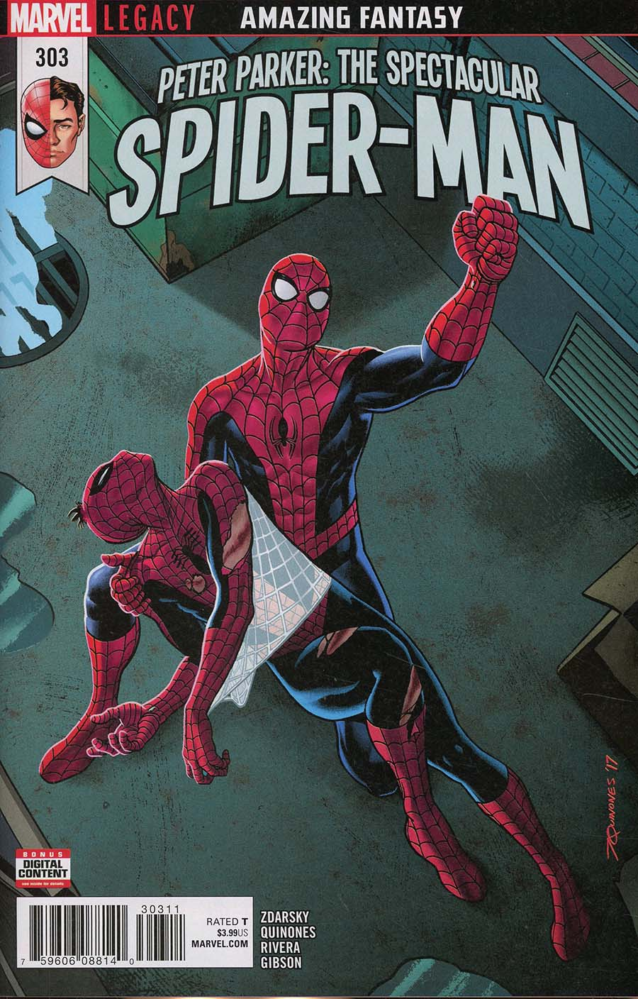 Peter Parker Spectacular Spider-Man #303 Cover A Regular Joe Quinones Cover