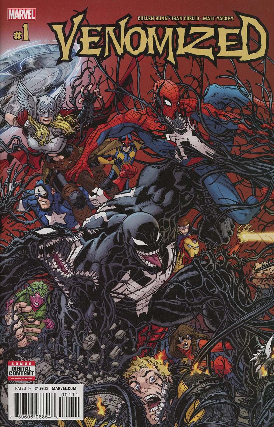 Venomized #1 Cover A Regular Nick Bradshaw Cover