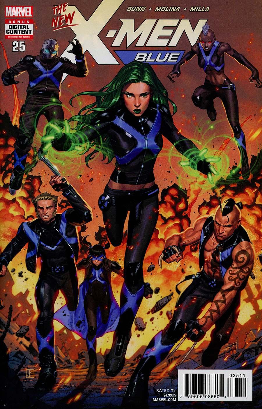 X-Men Blue #25 Cover A Regular Jorge Molina Cover