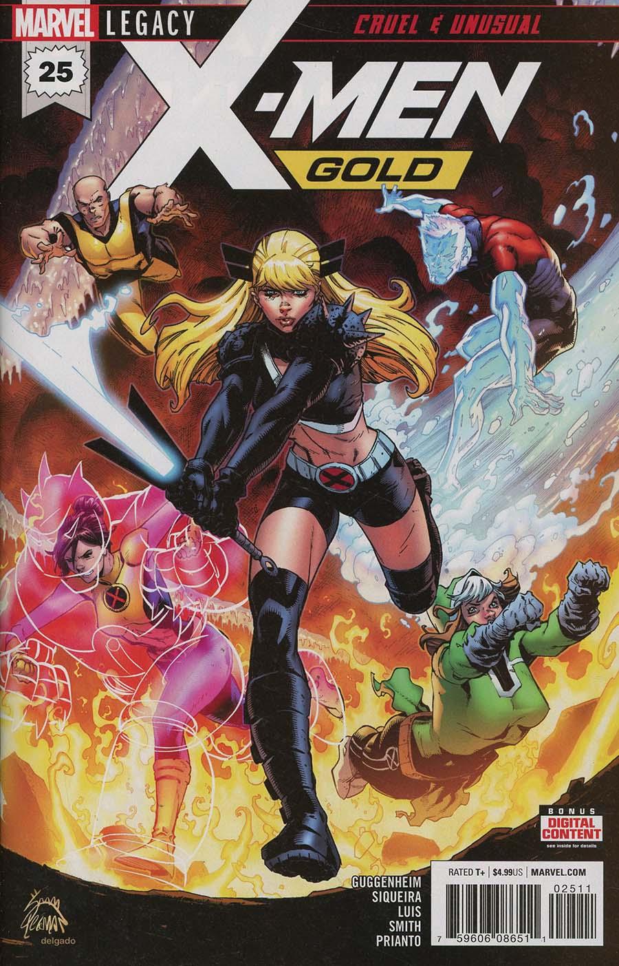 X-Men Gold #25 Cover A Regular Ryan Stegman Cover
