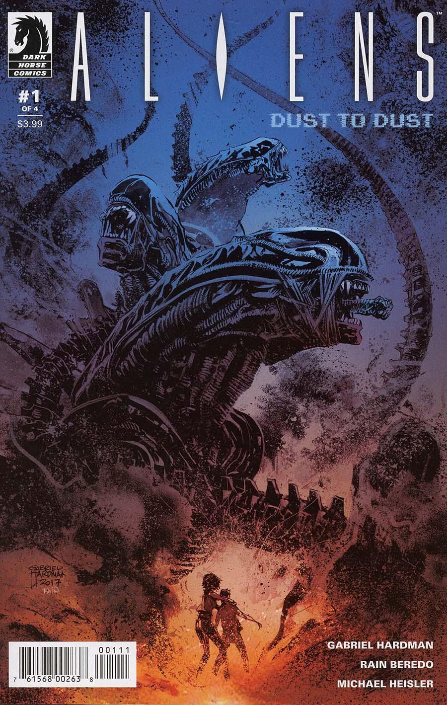 Aliens Dust To Dust #1 Cover A Regular Gabriel Hardman Cover