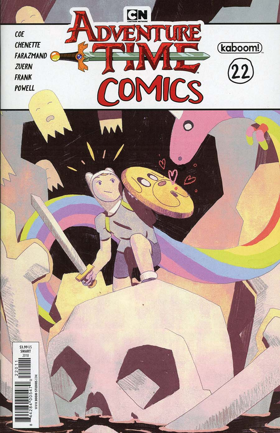 Adventure Time Comics #22 Cover A Regular Kyle Smart Cover