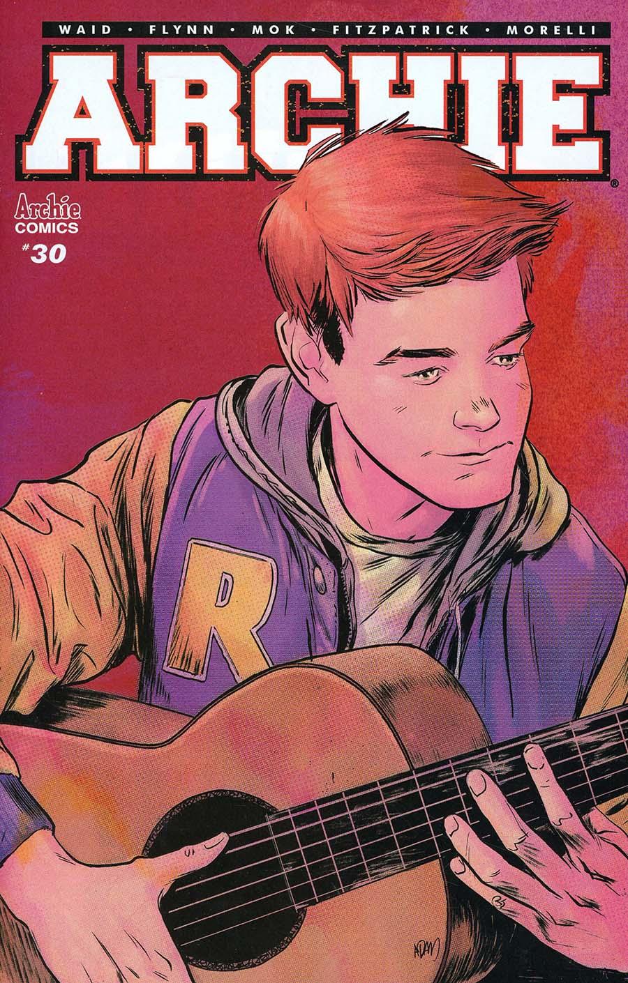 Archie Vol 2 #30 Cover B Variant Adam Gorham Cover