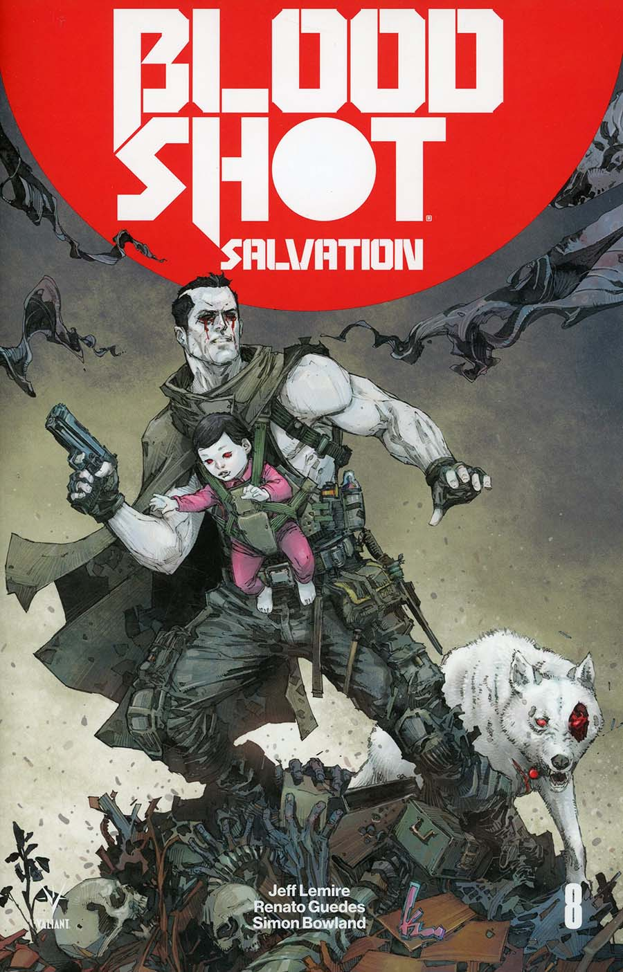 Bloodshot Salvation #8 Cover A Regular Kenneth Rocafort Cover