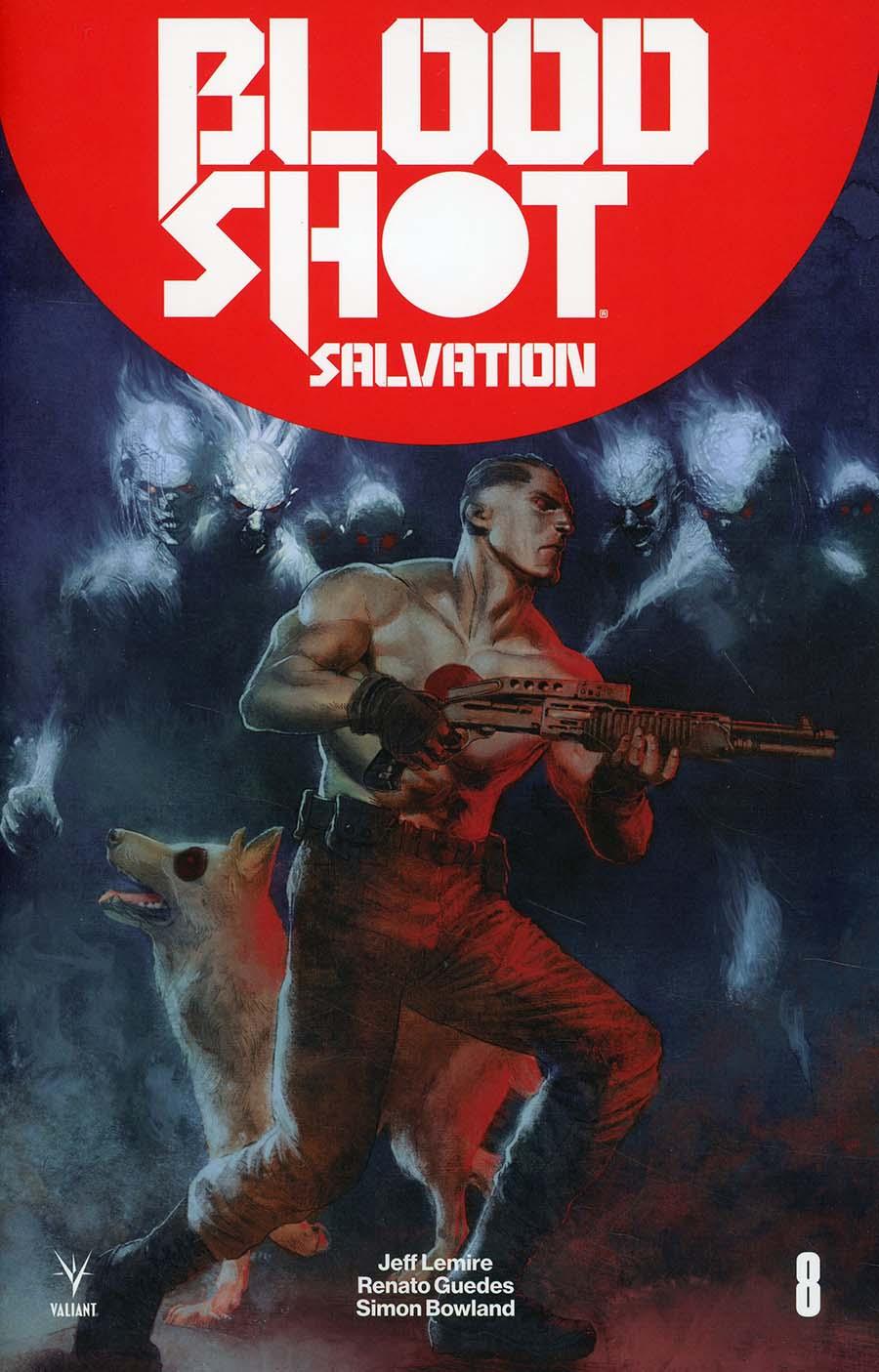 Bloodshot Salvation #8 Cover B Variant Renato Guedes Deadside Cover