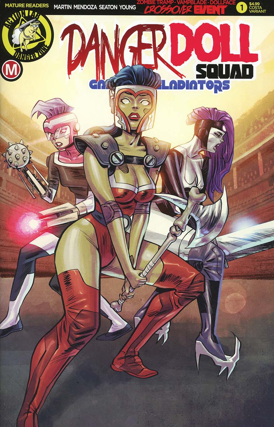 Danger Doll Squad Galactic Gladiators #1 Cover C Variant Marcello Costa Cover