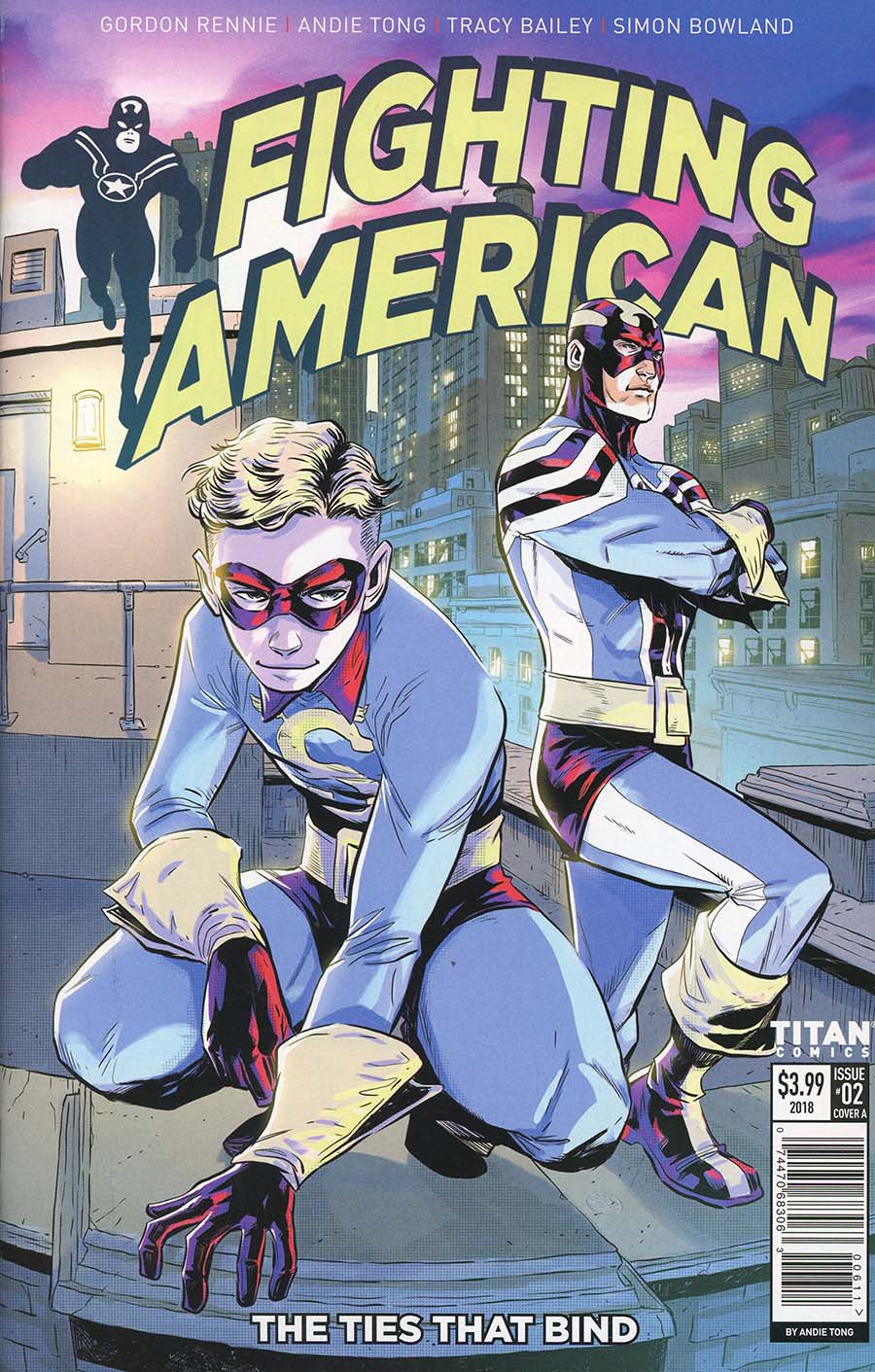 Fighting American Ties That Bind #2 Cover A Regular Andie Tong Cover