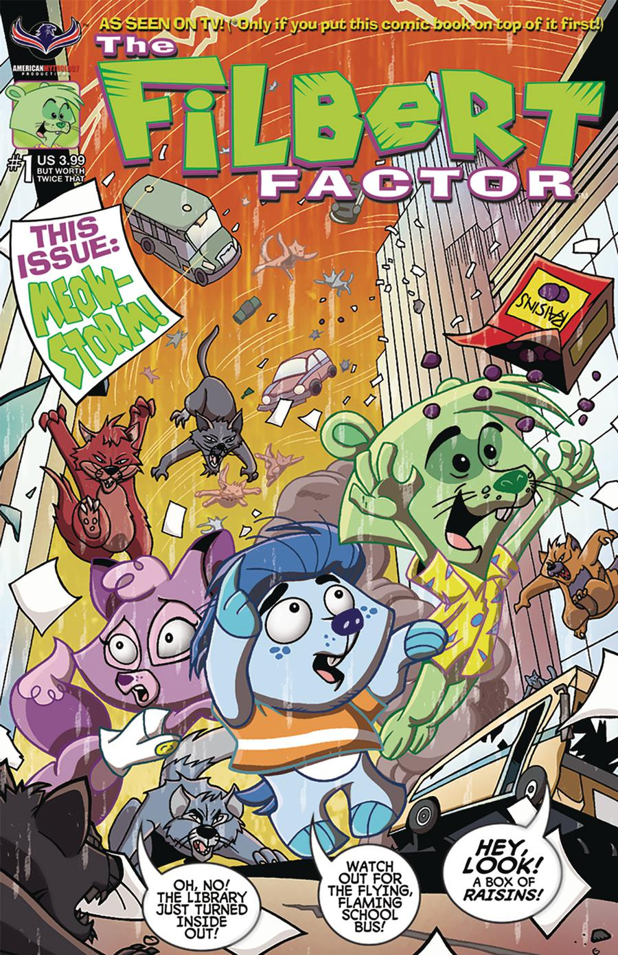 Filbert Factor #1 Rejected By Free Comic Book Day Cover A Regular Horacio Domingues & Ruben Gonzalez Cover