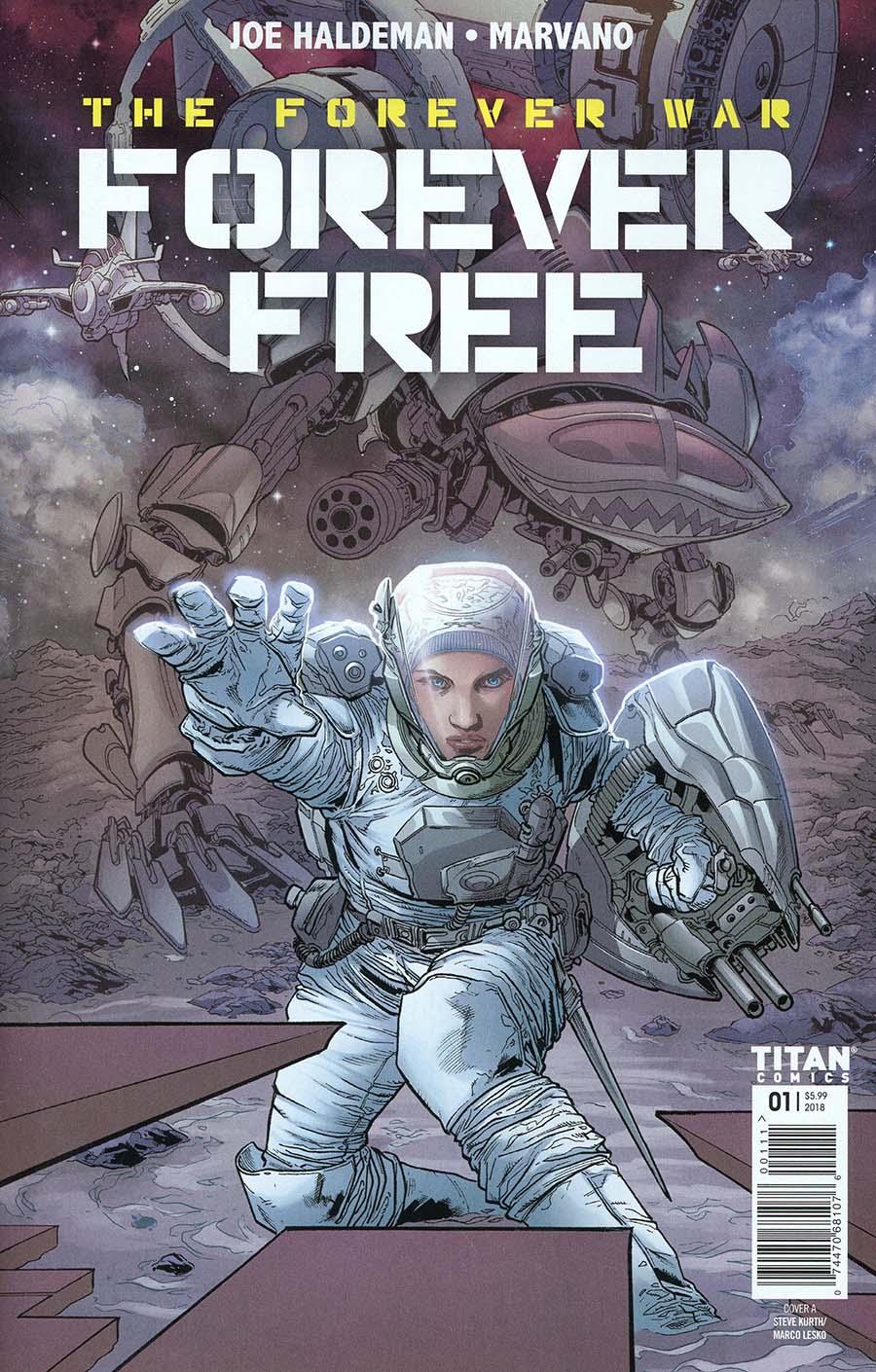 Forever War Forever Free #1 Cover A Regular Steve Kurth Cover