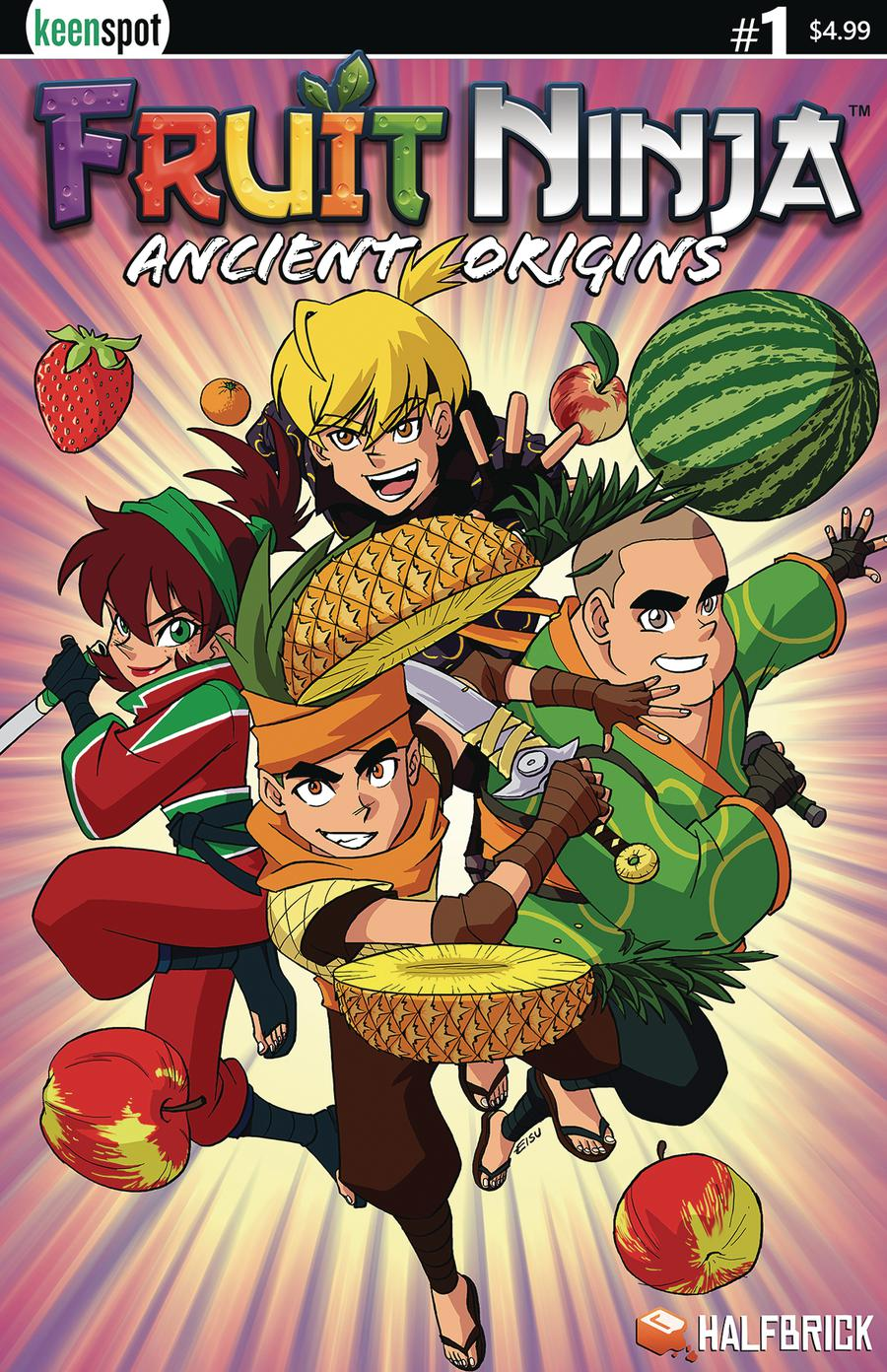 Fruit Ninja Ancient Origins #1 Cover A Regular Remy Eisu Mokhtar Cover