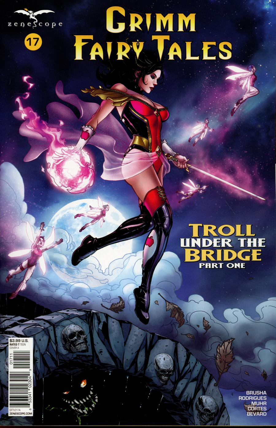 Grimm Fairy Tales Vol 2 #17 Cover A Drew Edward Johnson