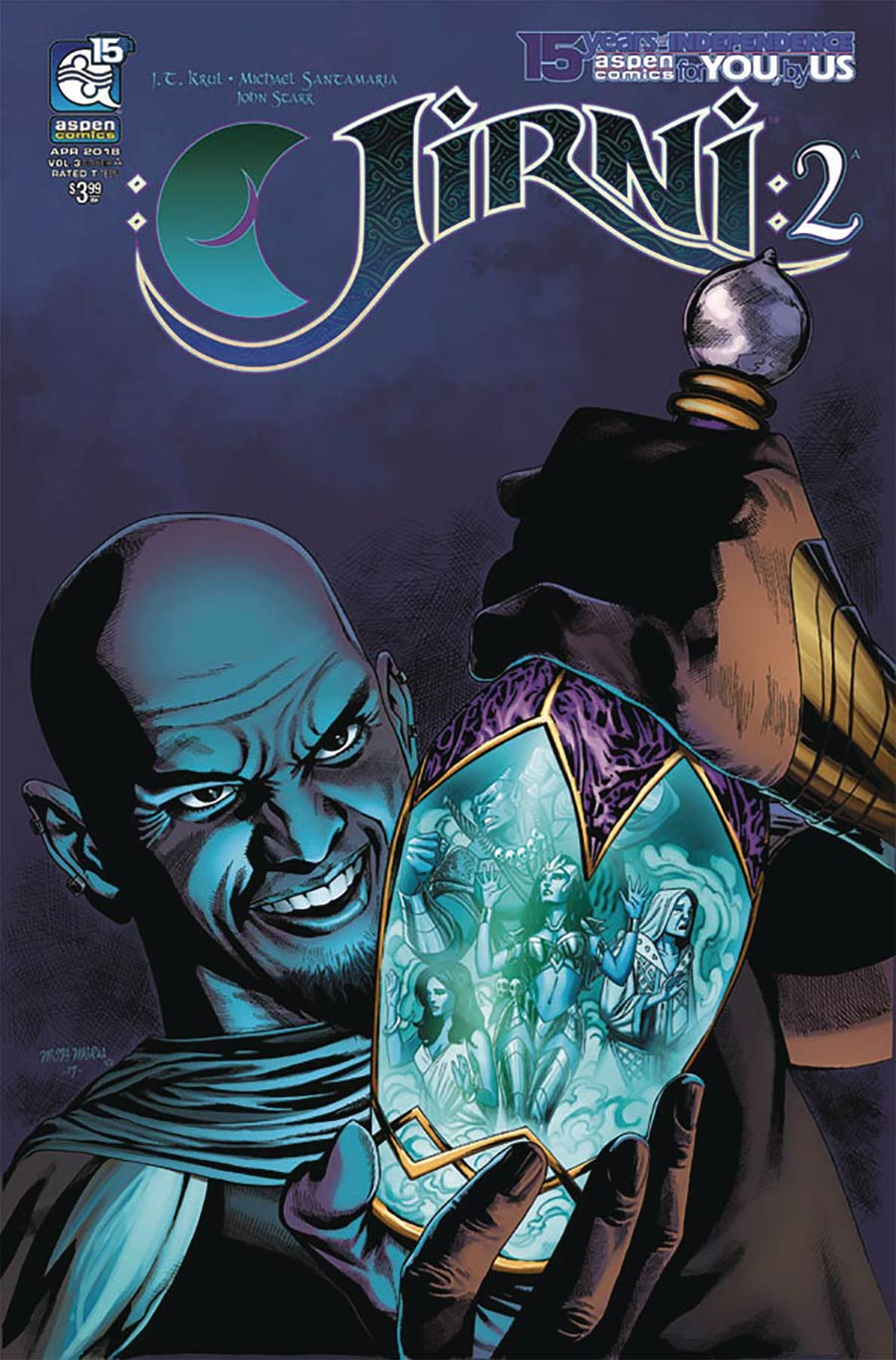 Jirni Vol 3 #2 Cover A Regular Michael Santamaria Cover