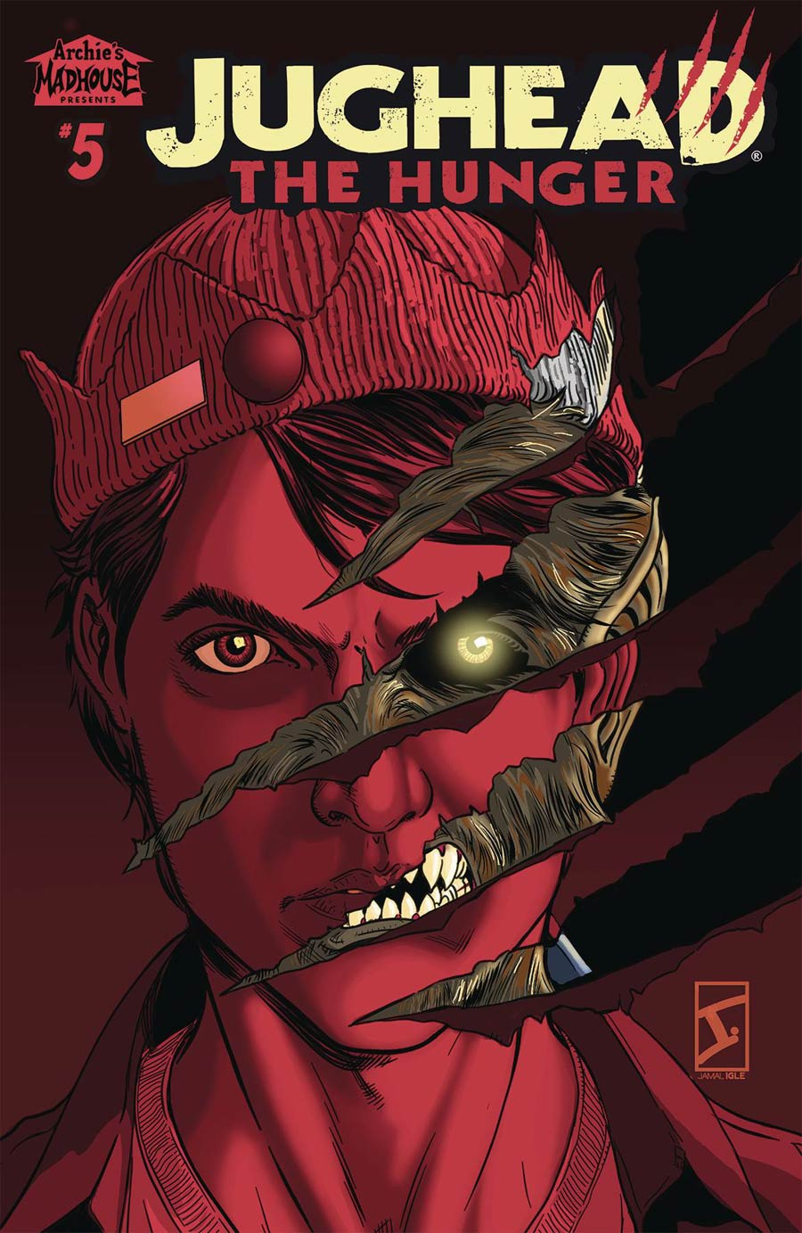 Jughead The Hunger #5 Cover B Variant Jamal Igle Cover
